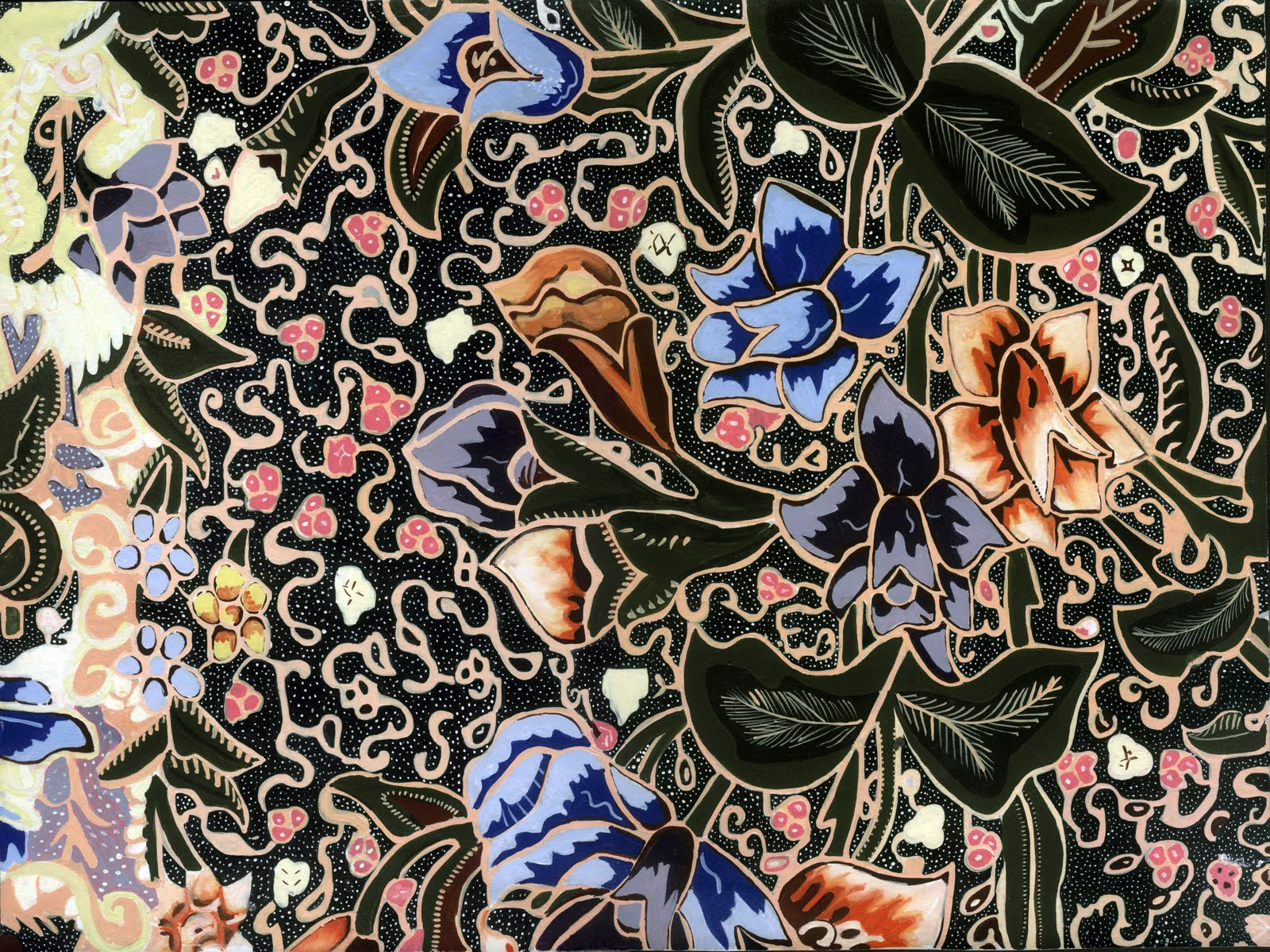 Corak Batik Wallpaper | Joy Studio Design Gallery - Best Design